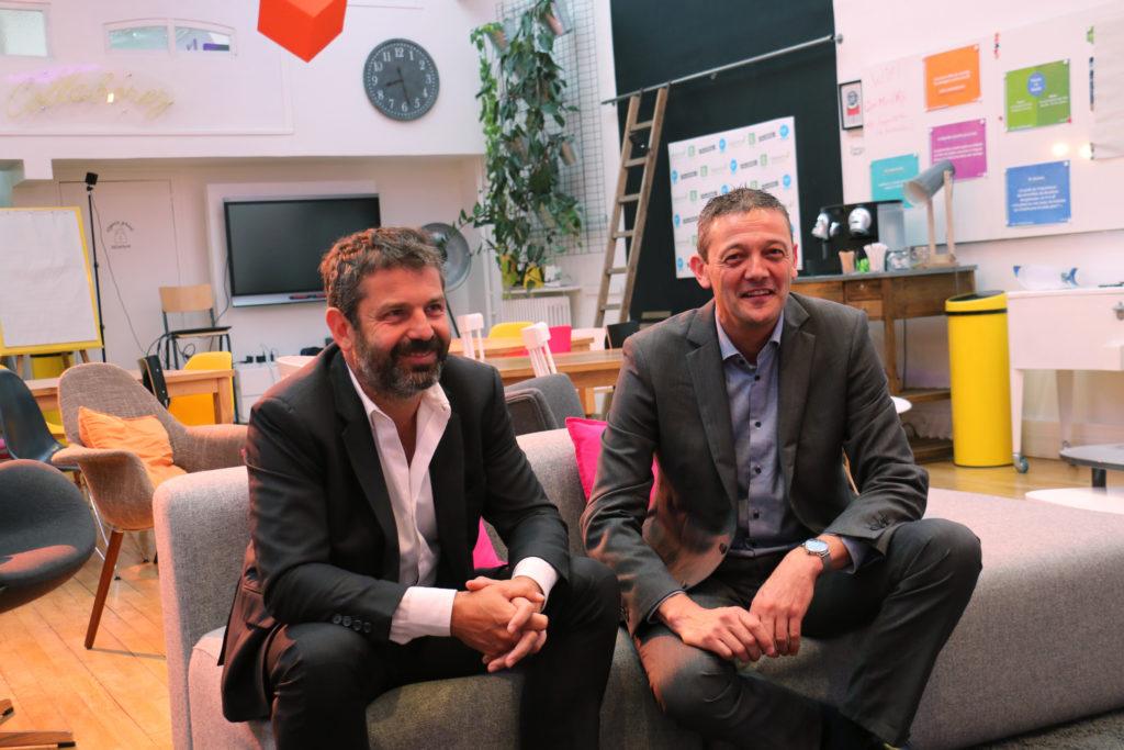Olivier PIERRE et Fabrice REBOULLET, dirigeants d'Immersive Prévention