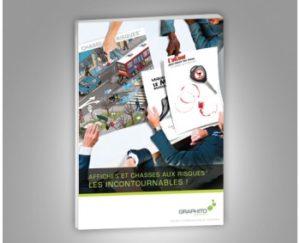 Consultez notre catalogue chasses aux risques® et affiches