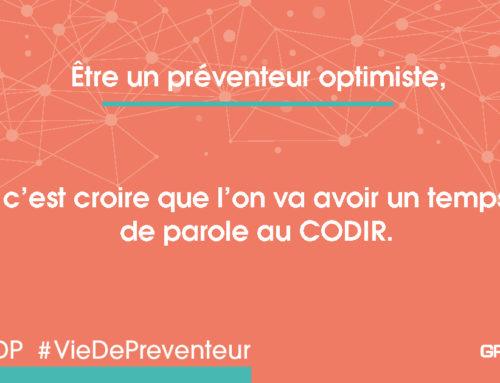 VDP préventeur optimiste – CODIR