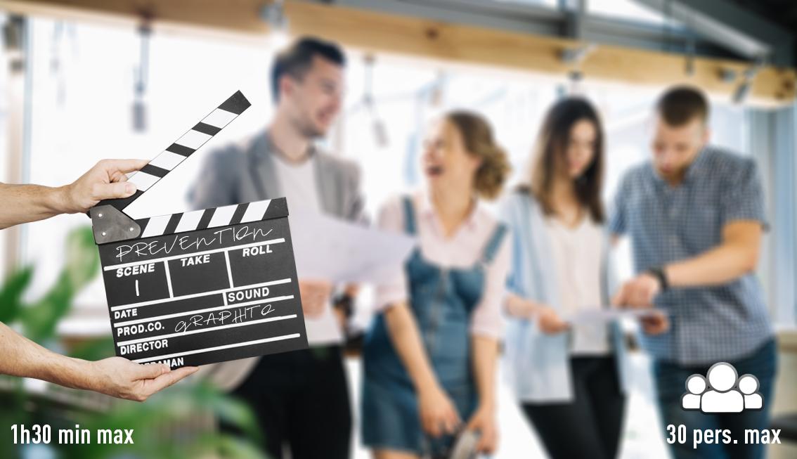 atelier oscar de la prévention, créez des vidéos prévention décalés lors de vos journées sécurité