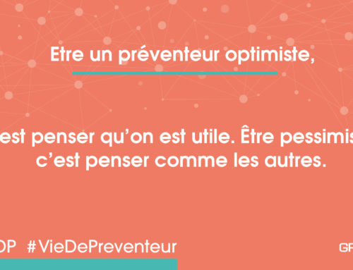 Prev optimiste – être utile