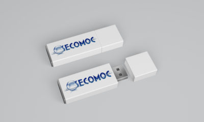 Mock-up clé USB