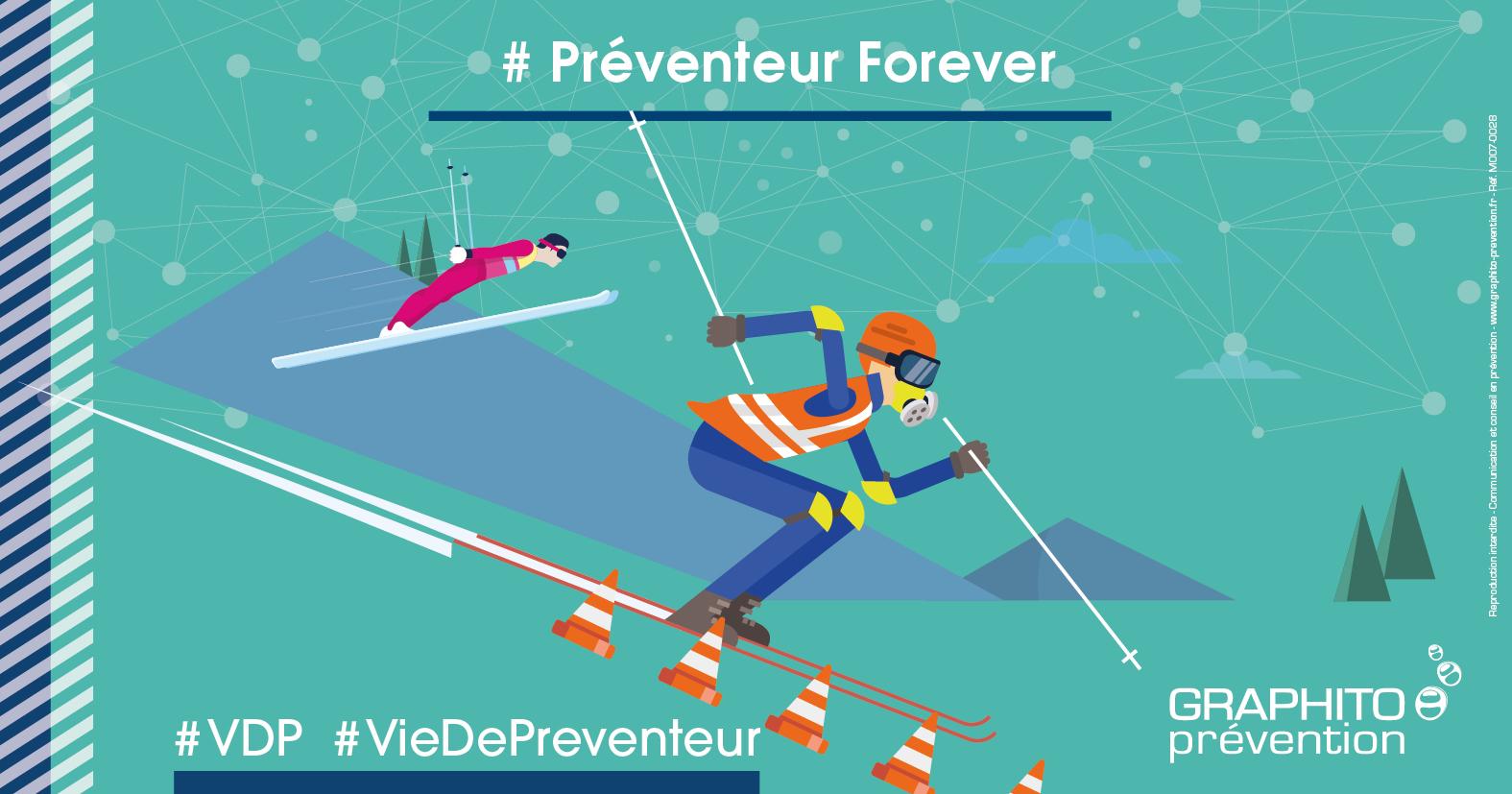 VDP illustrée préventeur forever ski