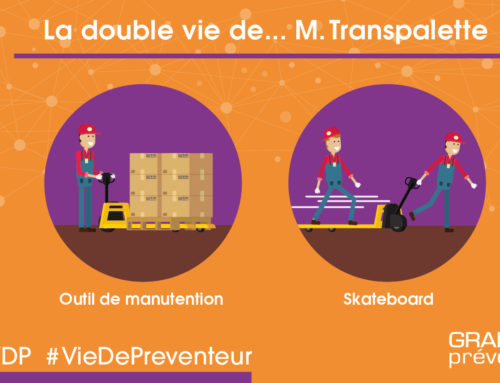 VDP illustrée – Double vie transpalette