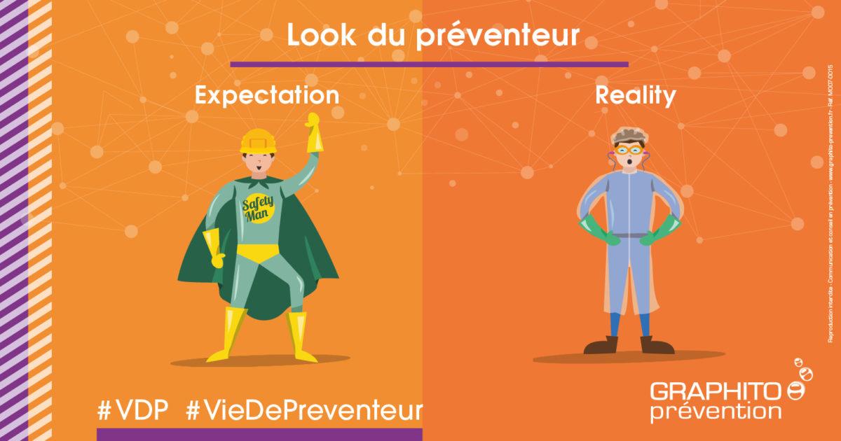 VDP illustrée, look de préventeur