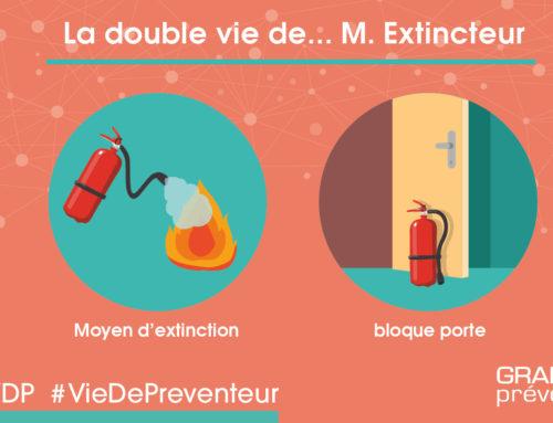 La double vie de…M. Extincteur.