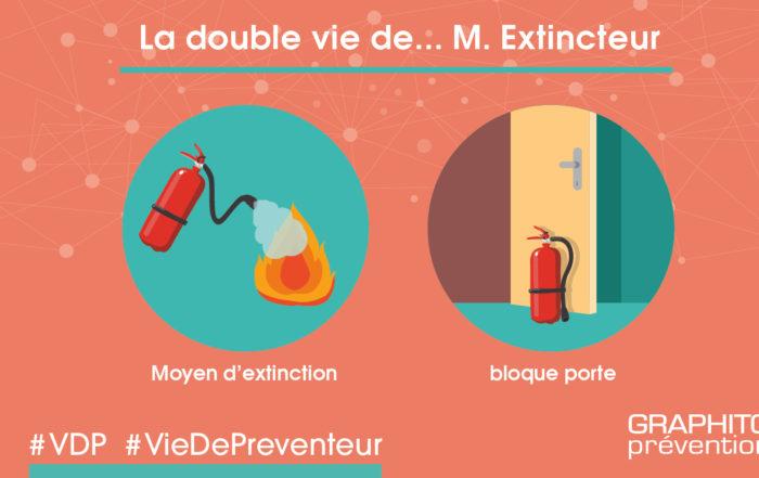 La double vie de...M. Extincteur.