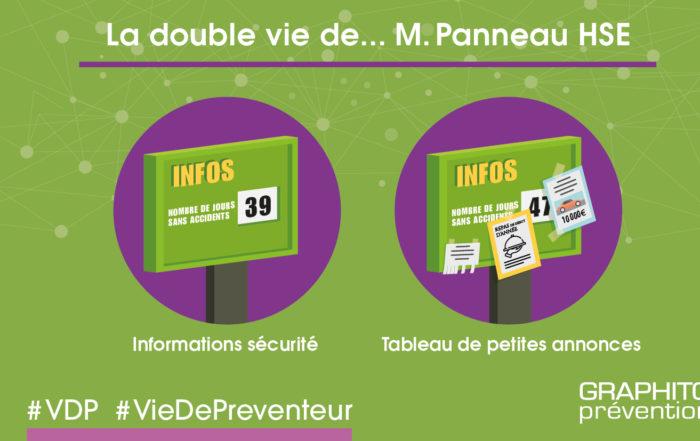 La double vie du panneau d'informations sécurité