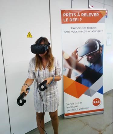 La réalité virtuelle à RAS Intérim